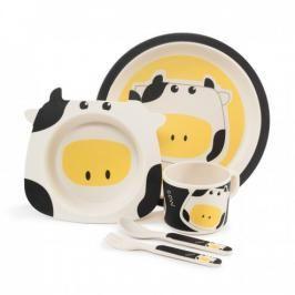 ZOPA - Bambusová sada nádobí, Cow