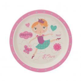 ZOPA - Bambusový talířek, Dancing girl
