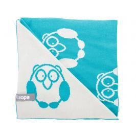 ZOPA - Dětská deka Little Owl, Mint