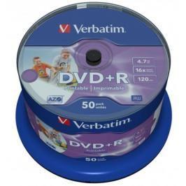 Verbatim DVD+R 4,7GB, 16x, 50cake (43512)