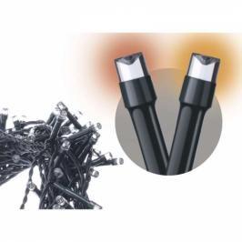 EMOS 120 LED řetěz pulzující, 12m, IP44, jantarová, časovač (1534190700)