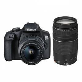 Canon 2000D + 18-55 IS II + 75-300 (2728C017AA)