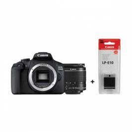 Canon 2000D + 18-55 IS II + LP-E10 (2728C010AA)