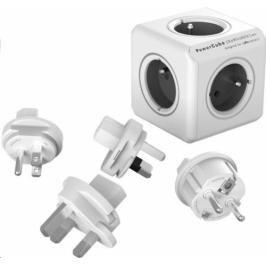 Powercube Rewirable + Travel Plugs - šedý (456307)