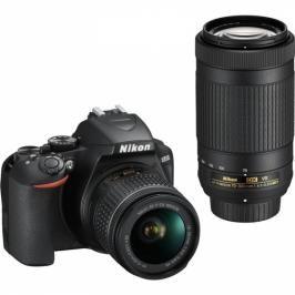Nikon D3500 + 18-55 AF-P VR + 70-300 AF-P VR (VBA550K005)