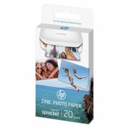 HP Zink Sticky-Backet Photo Paper A6, 20 listů (W4Z13A)