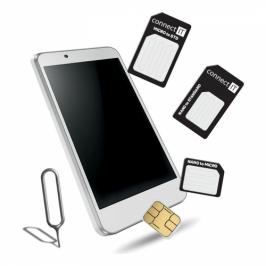 Connect IT nano/ micro/ standard SIM (CFF-0050-BK)