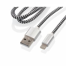 GoGEN USB / lightning, 1m, opletený, zkumavka (LIGHTN100MM24T)
