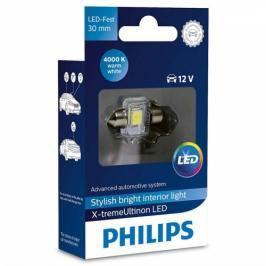 Philips X-tremeUltinon LED C5W, 30mm, 4000K, 1ks (129404000KX1)