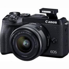 Canon M6 MARK II + EF-M 15-45 IS STM + EVF hledáček (3611C012)