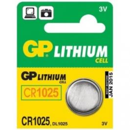 GP CR1025 LITHI, 3V, 30mAh (B1580)