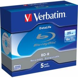 Verbatim BD-R DL 25GB,6x, 5 ks (43836)