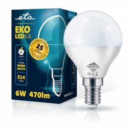 ETA EKO LEDka mini globe 6W, E14, teplá bílá (P45W6WW)