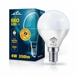 ETA EKO LEDka mini globe 4W, E14, neutrální bílá (P45W4NW)