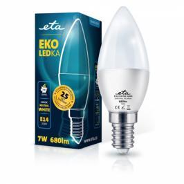 ETA EKO LEDka svíčka 7W, E14, neutrální bílá (C37W7NW)