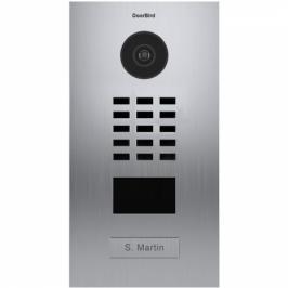 DoorBird D2101V zapuštěná, 1 tlačítko nerez ocel (DB-D2101V)