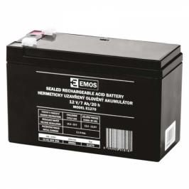 EMOS bezúdržbový 12 V/7 Ah, faston 4,7 mm (B9691)