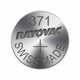 Knoflíková baterie do hodinek RAYOVAC 371, 10ks, pap. krab.