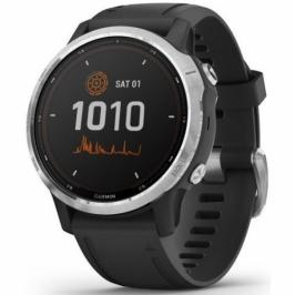 Garmin fenix6S Solar - Silver/Black Band (010-02409-00)
