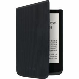 Pocket Book 616/627/632 - pruhované černé (EBPPK1070)