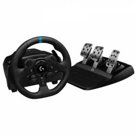 Logitech G923 Racing Wheel and Pedals pro PS4 a PC (941-000149)