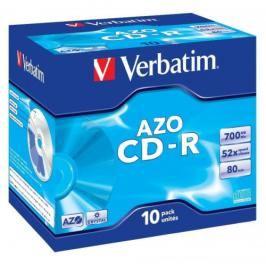 Verbatim CD-R DLP 700MB/80min, 52x, jewel box, 10ks (43327)