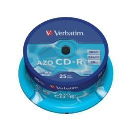 Verbatim CD-R DLP 700MB/80min. 48x, 25-cake (43352)