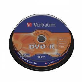 Verbatim DVD-R 4,7GB, 16x, 10cake (43523)