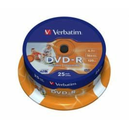 Verbatim DVD-R 4.7GB, 16x, 25cake (43538)