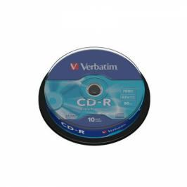 Verbatim CD-R DL 700MB/80min, 52x, 10-cake (43437)