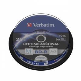 Verbatim BD-R M-Disc 25GB, 4x, 10-cake (43825)