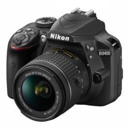 Nikon D3400 + AF-P 18-55 VR + 4x čištění čipu zdarma (VBA490K001)
