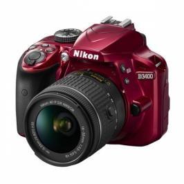 Nikon D3400 + AF-P 18-55 VR + 4x čištění čipu zdarma (VBA491K001)