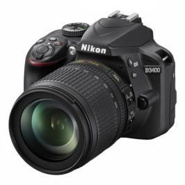 Nikon D3400 + 18-105 AF-S DX VR + 4x čištění čipu zdarma (VBA490K003)