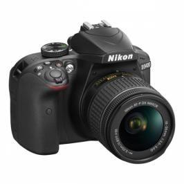 Nikon D3400 + AF-P 18-55 NON VR + 4x čištění čipu zdarma (VBA490K002)