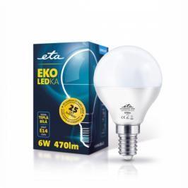 ETA EKO LEDka mini globe, 6W, E14, teplá bílá (G45-PR-470-16A)