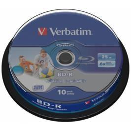 Verbatim BD-R SL 25GB, 6x, 10-cake (43804)