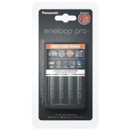 Panasonic Smart-Quick Charger pro AA,AAA + 4x AA Panasonic Eneloop Pro 2500mAh (K-KJ55HCD40E)