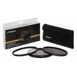Polaroid 52mm (UV MC, CPL, ND9), set 3ks (PL3FILND52)