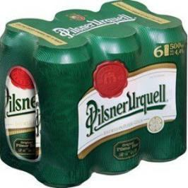 Pilsner Urquell 0,5l 4x multipack 6x0,5l plech