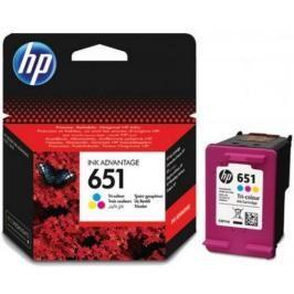Cartridge HP C2P11AE, 651, Tri-color