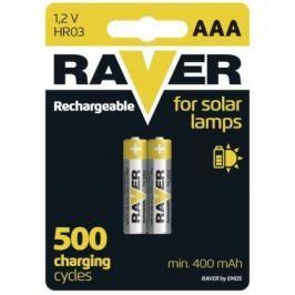 Baterie Raver NiMH 400mAh AAA 2ks
