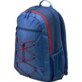 HP 15.6 Active Blue/Red Backpack