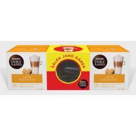 Originální balení Latte Macchiato 2x16kapslí+sklenice jako dárek