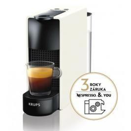 Kapslový kávovar Krups Nespresso Essenza Mini XN110110 bílý