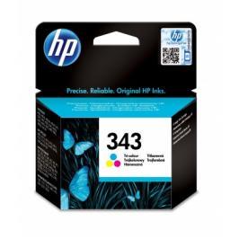 HP C8766EE 343 Tříbarevná originální inkoustová kazeta