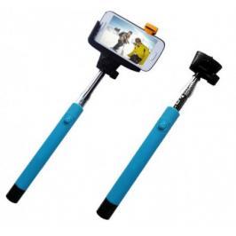 C-TECH Teleskopický selfie držák MP107G, Bluetooth, modrý