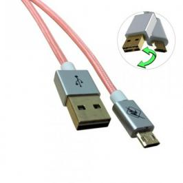 InHouse MKF-Reversible USB/ Micro USB Gold 1,2 BK, oranžový