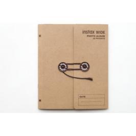 FujiFilm instax album Wide Brown
