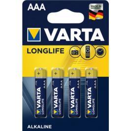 Alkalické baterie Varta Longlife AAA 4x